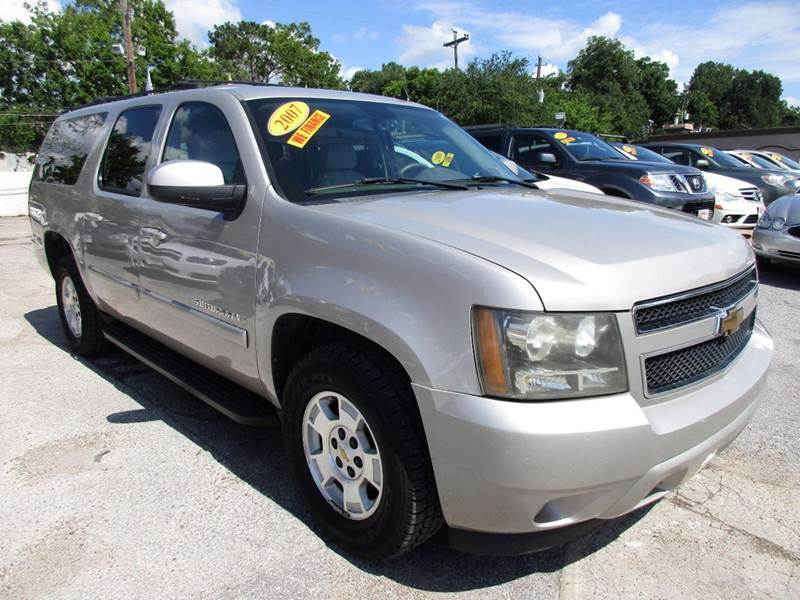 2007 CHEVROLET SUBURBAN LT 1500 4DR SUV tan good vehicle history with no issues or problemsquad s