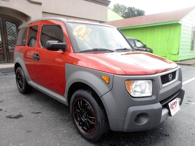2005 HONDA ELEMENT LX AWD 4DR SUV sunset orange pearl hard to find lots of room for school bu