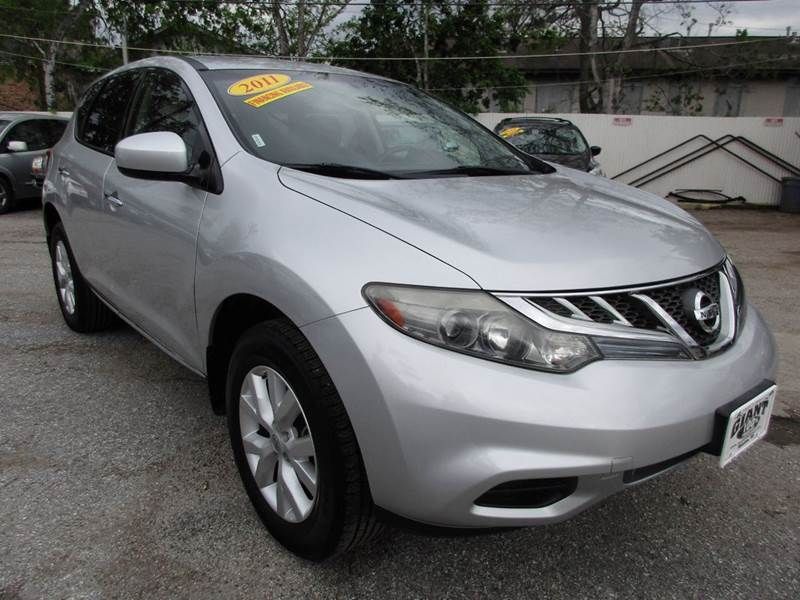2011 NISSAN MURANO S 4DR SUV brilliant silver metallic very nicely featured 5 passenger suv that