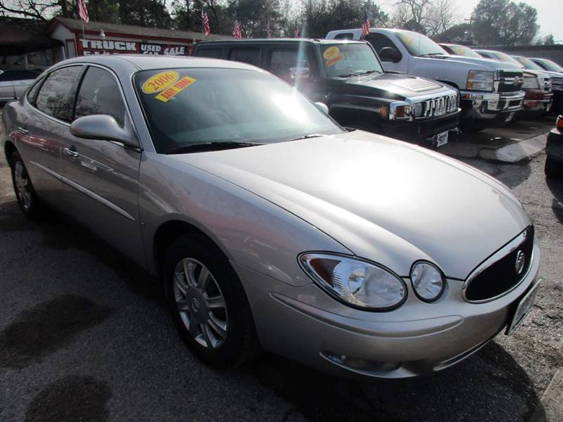 2006 BUICK LACROSSE CX 4DR SEDAN silver abs - 4-wheel air filtration airbag deactivation - occu