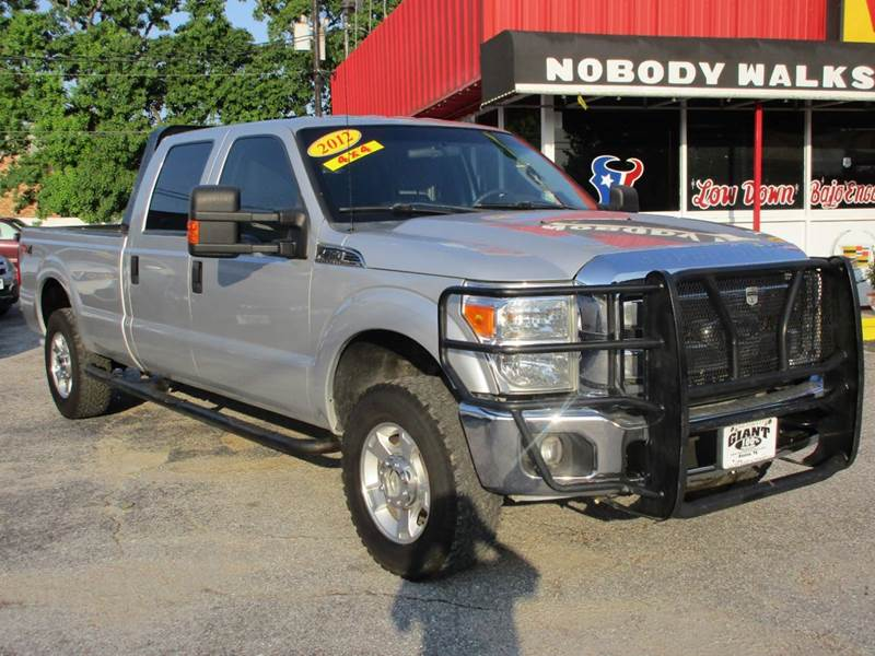 2012 FORD F-250 SUPER DUTY FX4 4X4 4DR CREW CAB 8 FT LB PI silver nobody walks is our signature