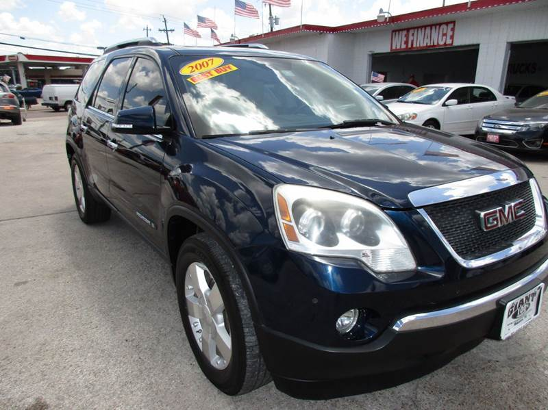 2007 GMC ACADIA SLT-2 4DR SUV blue 2-stage unlocking doors abs - 4-wheel airbag deactivation -