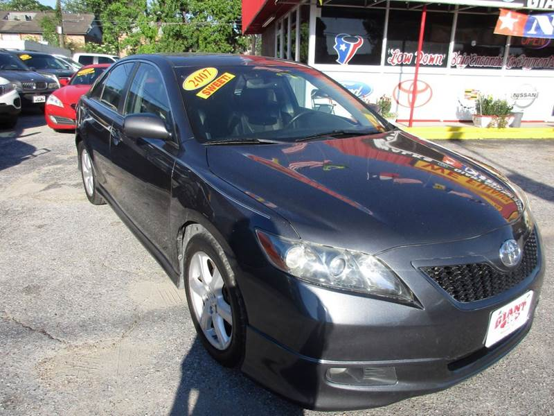 2007 TOYOTA CAMRY SE V6 4DR SEDAN magnetic gray fully loaded sunroof leather ally wheels and much