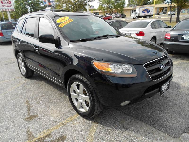 2007 HYUNDAI SANTA FE SE 4DR SUV blue very nice 5 passenger suv that is absolutely priced to sell
