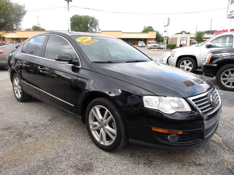 2007 VOLKSWAGEN PASSAT 20T 4DR SEDAN 2L I4 6A black this is a mechanics special simply because