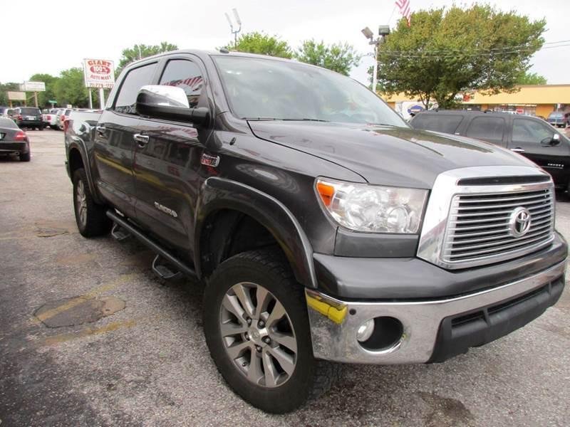 2011 TOYOTA TUNDRA LIMITED 4X4 4DR CREWMAX CAB PICK greystone metallic platinum edition4x4naviga