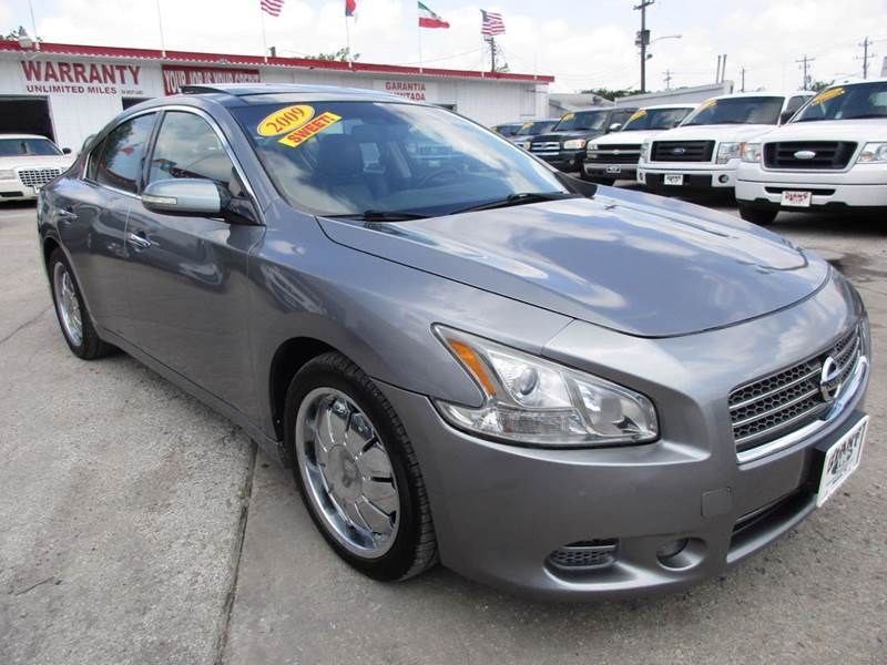 2009 NISSAN MAXIMA 35 SV 4DR SEDAN gray giant auto mart is a family owned business at the same lo