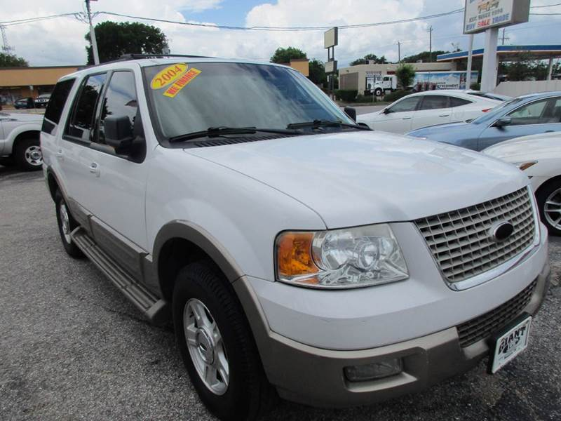 2004 FORD EXPEDITION EDDIE BAUER 4DR SUV white nobody walks is our signature motto and that sim