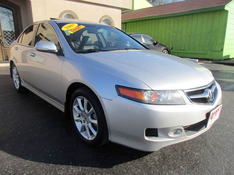 2007 ACURA TSX WNAVI 4DR SEDAN 5A WNAVIGATION silver giant auto mart is a family owned business