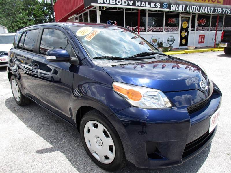 2008 SCION XD BASE 4DR HATCHBACK 4A blue if your looking for value dependability great gas mile
