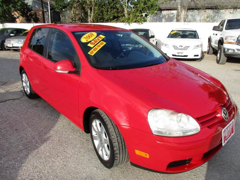 2008 VOLKSWAGEN RABBIT S 4DR HATCHBACK 6A tornado red fun  sporty great opn gas reliable and a gr