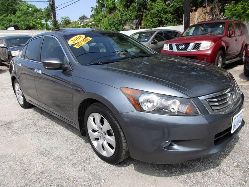 2008 HONDA ACCORD EX V6 4DR SEDAN 5A gray this is a 2008 honda accord the car that helped make th