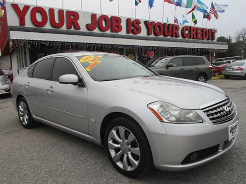 2006 Infiniti M35 for sale in Houston, TX