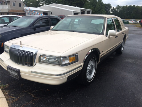 1997 Lincoln Town Car for sale in Seaford, DE