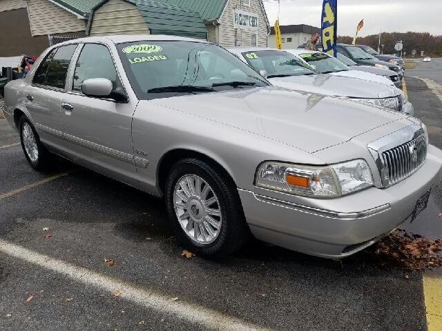2009 Mercury Grand Marquis Ls Fleet Sedan Luxury 4dr In
