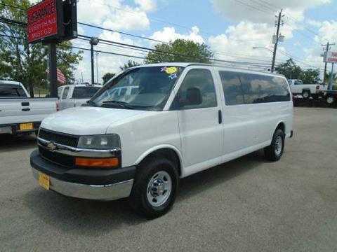 2009 Chevrolet Express Passenger for sale in Houston TX