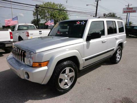 2009 Jeep Commander for sale in Houston TX
