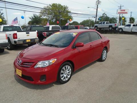 2013 Toyota Corolla for sale in Houston TX
