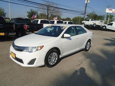 2013 Toyota Camry for sale in Houston, TX