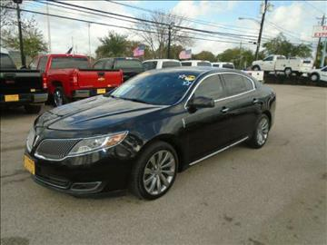 2014 Lincoln MKS for sale in Houston, TX