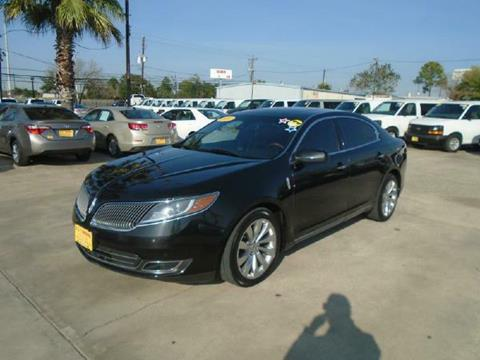 2014 Lincoln MKS for sale in Houston TX