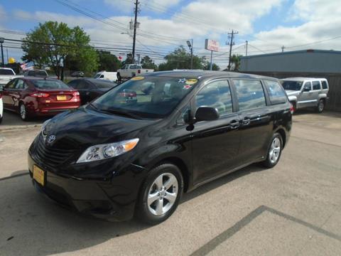 2014 Toyota Sienna for sale in Houston, TX