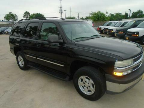 2004 Chevrolet Tahoe for sale in Houston TX