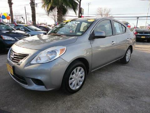2012 Nissan Versa for sale in Houston TX