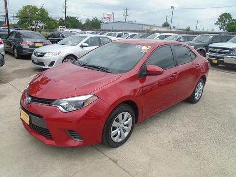 2016 Toyota Corolla for sale in Houston, TX
