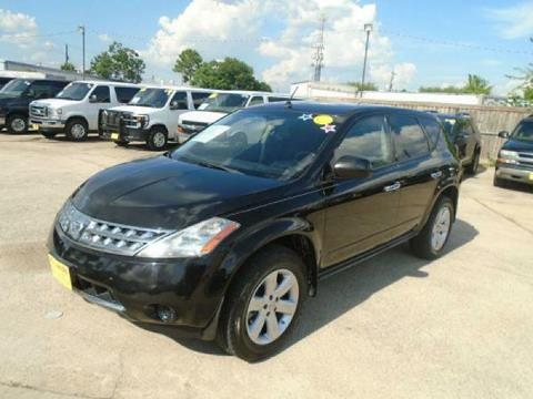 2007 Nissan Murano for sale in Houston, TX