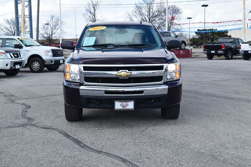 2009 Chevrolet Silverado 1500 LT 4x4 4dr Extended Cab 6.5 ft. SB - Indianapolis IN