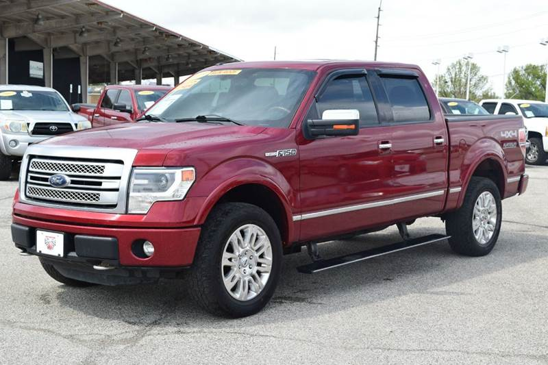 2013 Ford F-150 Platinum 4x4 4dr SuperCrew Styleside 5.5 ft. SB - Indianapolis IN