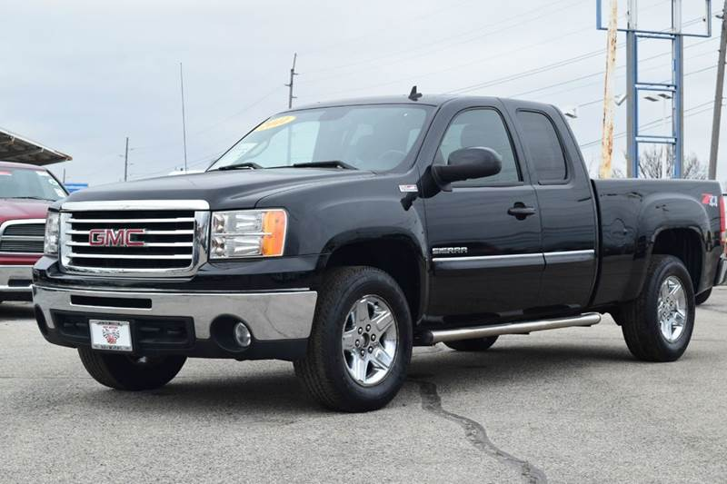 2011 GMC Sierra 1500 4x4 SLE 4dr Extended Cab 6.5 ft. SB - Indianapolis IN