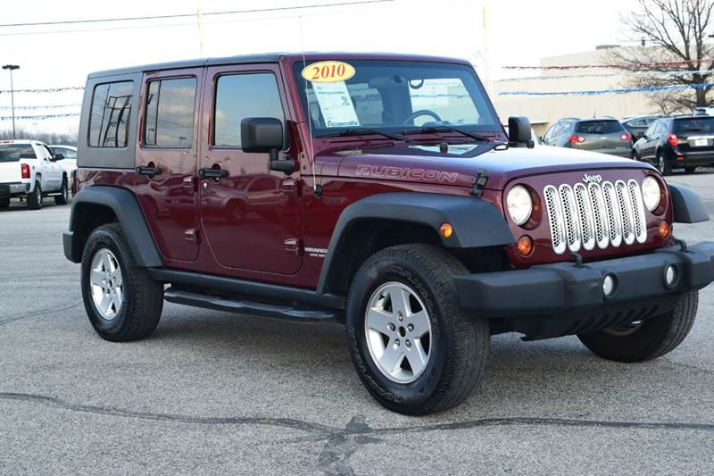 2010 Jeep Wrangler Unlimited Rubicon 4x4 4dr SUV - Indianapolis IN