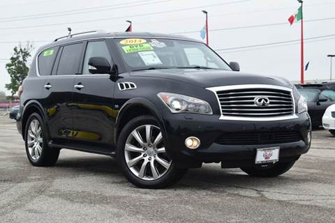2014 Infiniti QX80 for sale in Indianapolis, IN