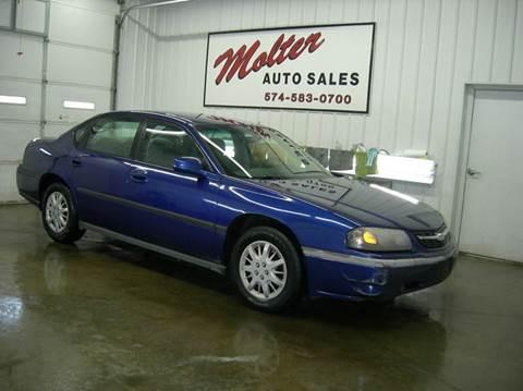 2005 Chevrolet Impala for sale in Monticello, IN