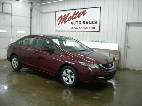 2014 Honda Civic for sale in Monticello, IN