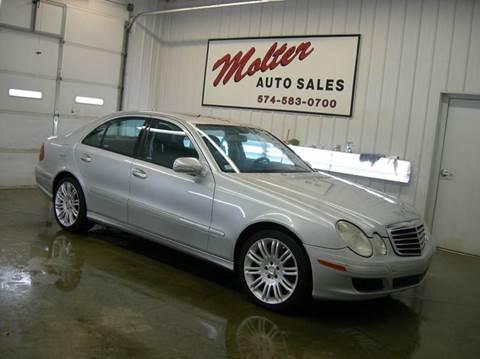 2009 Mercedes-Benz E-Class for sale in Monticello, IN