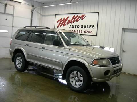 2003 Mitsubishi Montero Sport for sale in Monticello, IN