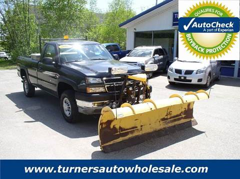 2005 Chevrolet Silverado 2500HD for sale in Exeter, NH