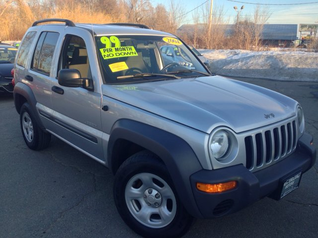 2004 jeep liberty sport 4dr 4wd suv in fitchburg ma new england motors. Black Bedroom Furniture Sets. Home Design Ideas