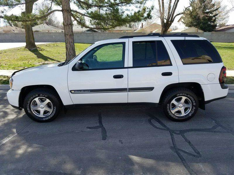 2002 Chevrolet TrailBlazer LT 4WD 4dr SUV - Salt Lake City UT