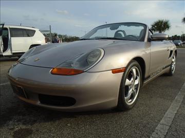 2002 Porsche Boxster for sale in Oakland, FL