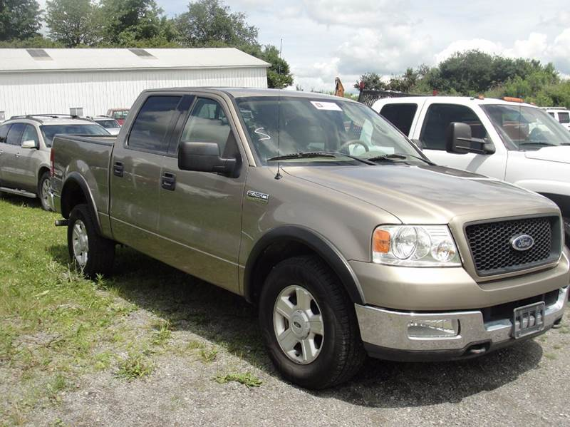 2004 Ford F-150 4dr SuperCrew XLT 4WD Styleside 5.5 ft. SB - East Springfield NY