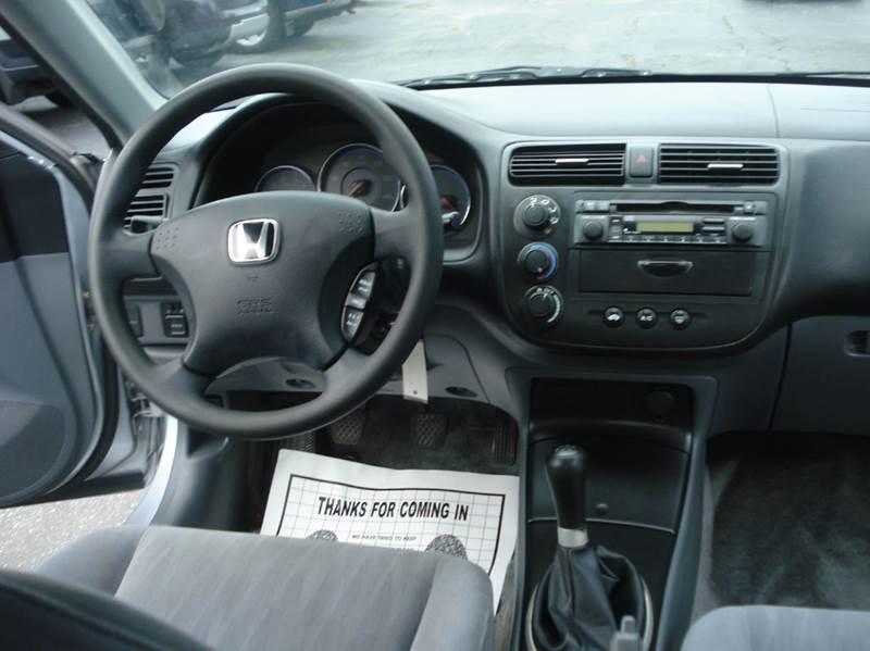 2003 honda civic lx 4dr sedan in spring grove il bestbuyautoltd vehicle options sciox Choice Image