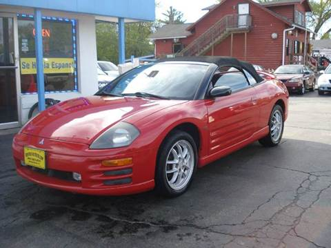 2002 Mitsubishi Eclipse Spyder for sale in Spring Grove, IL
