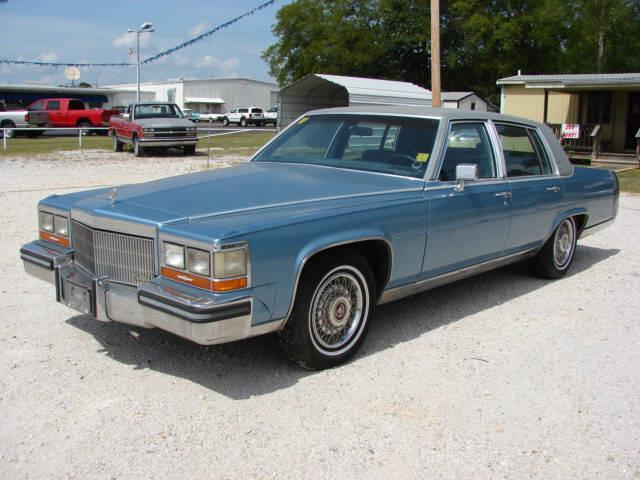 Used cadillac brougham for sale for Teeter motor co used car division malvern ar