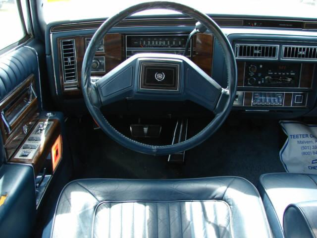 1989 cadillac brougham base 4dr sedan in malvern for Teeter motor co used car division malvern ar