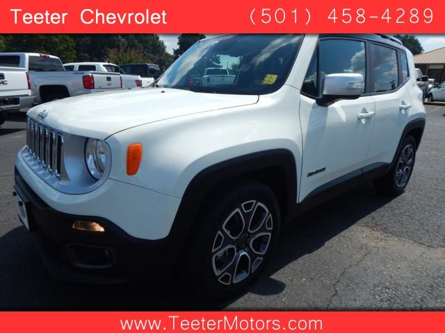 2016 Jeep Renegade Limited 4dr Suv In Malvern Ar Teeter
