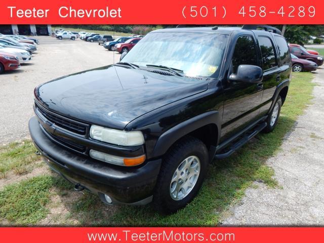 2002 Chevrolet Tahoe In Malvern Ar Teeter Motor Co